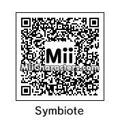 QR Code for Black Spider-Man by Mr. Tip