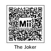 QR Code for The Joker by !SiC