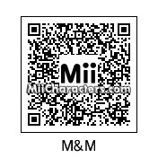 QR Code for M&M by Toon and Anime