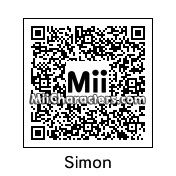 QR Code for Simon Seville by Toon and Anime