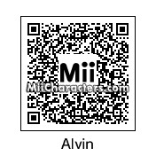 QR Code for Alvin Seville by Toon&Anime