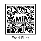 QR Code for Fred Flintstone by BrainLock