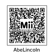 QR Code for Abraham Lincoln by J