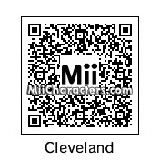 QR Code for Cleveland Brown by Toon and Anime