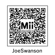 QR Code for Joe Swanson by Toon and Anime