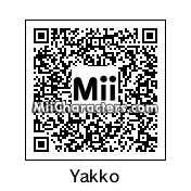 QR Code for Yakko Warner by BrainLock