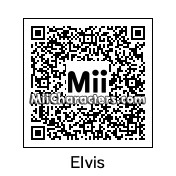 QR Code for Elvis Presley by Ajay