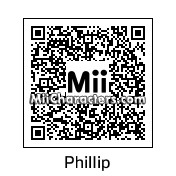 QR Code for Phillip by Toon and Anime