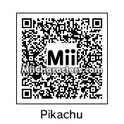 QR Code for Pikachu by Toon&Anime