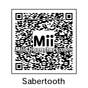 QR Code for Sabertooth by Mr. Tip