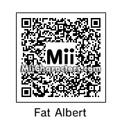 QR Code for Fat Albert by albert