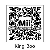 QR Code for King Boo by Toon and Anime