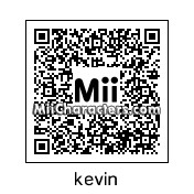 QR Code for Kevin by Mr. Tip