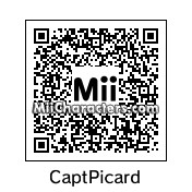 QR Code for Captain Jean-Luc Picard by UNCLE