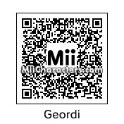 QR Code for Geordi La Forge by Hiesl