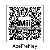 QR Code for Ace Frehley by Roxii