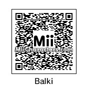QR Code for Balki Bartokomous by Liam Lynch