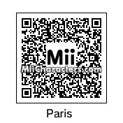 QR Code for Paris Hilton by Ajay