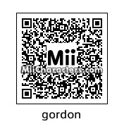 QR Code for Commissioner Gordon by Mr. Tip