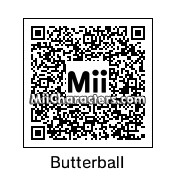 QR Code for Butterball by Mr Tip