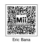 QR Code for Eric Bana by Ajay