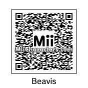 QR Code for Beavis by Tocci