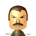 Mike Haggar Mii Image by Eben Frostey