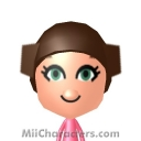 Princess Leia Bird Mii Image by bulldog