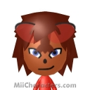 Knuckles the Echidna Mii Image by SonicFan