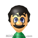 Luigi Mii Image by SuperFalk