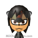 Shadow the Hedgehog Mii Image by Zego