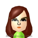 Poison Ivy Mii Image by MiiBrowser