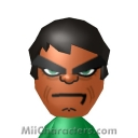 The Incredible Hulk Mii Image by C Thunder