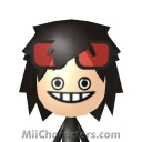 Jeff the Killer Mii Image by Luffym