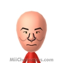 Capt. Jean-Luc Picard Mii Image by Andy Anonymous