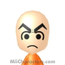 Krillin Mii Image by awesominator