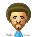 Bob Ross Mii Image by celery