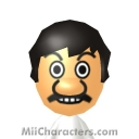 Mario (Referee) Mii Image by J1N2G