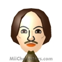 William Shakespeare Mii Image by Bella Swan