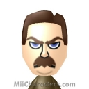 Ron Swanson Mii Image by KGB
