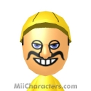 Wario Mii Image by Topher
