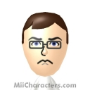 The Angry Video Game Nerd Mii Image by Atticus