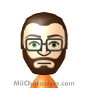Gordon Freeman Mii Image by HBLobster