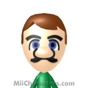 Luigi Mii Image by ThinkBullet