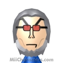 Mr. Freeze Mii Image by quibie