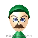 Luigi Mii Image by gmandres79