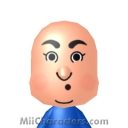 Curly Howard Mii Image by heather