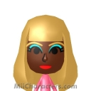Nicki Minaj Mii Image by The Mii Wizard