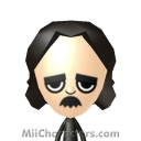 Edgar Allan Poe Mii Image by Mike