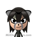 Shadow The Hedgehog Mii Image by tigrana
